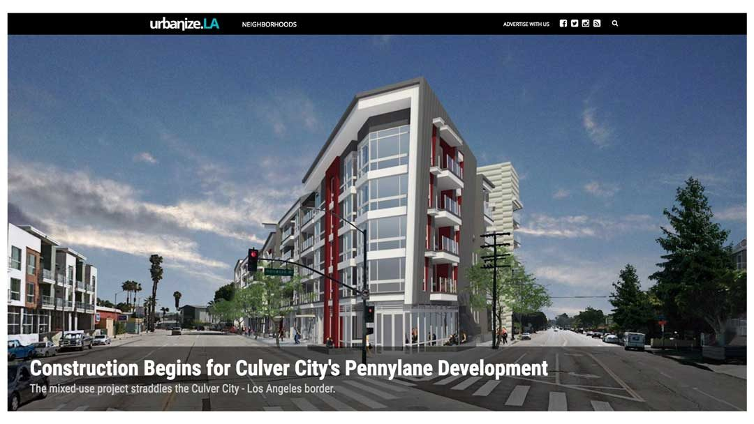 urbanize.la – Construction Begins for Culver City's Pennylane Development